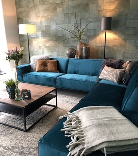 blue, room and style