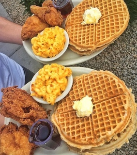 fried, soul and waffle
