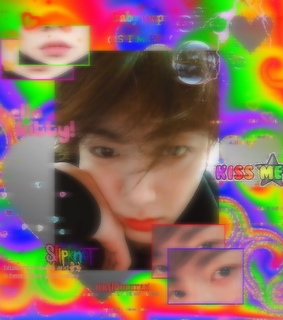 rainbowcore, jungkook and bts cyber edits