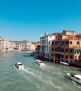 venice, italy and tezza