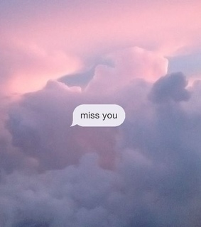 clouds, love and text