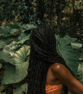 long locs, natural hair and beauty