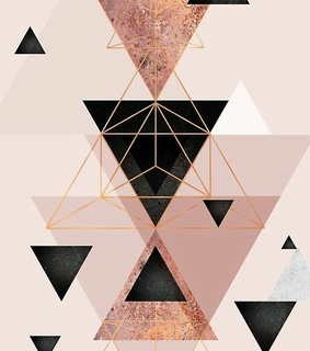 geometric, wallpaper and patron