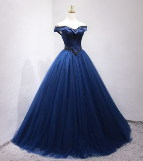 floor-length, vintage and ball gown