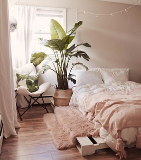 home, bedroom and decoration