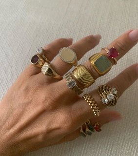 accessories, ring and sun