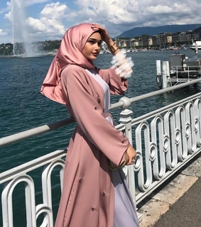 chechen, modesty and pink
