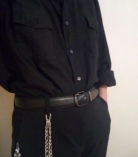 chains, belt and eboy
