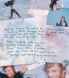 Lyrics, Taylor Swift and call it what you want
