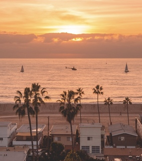 los angeles, travel and california
