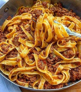 delicieux, spaghetti and food