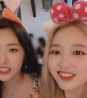 chaelivia, loona and gowon