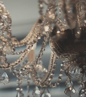 diamonds, chandelier and crystals