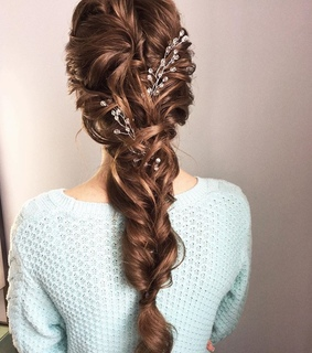 brown hair, colored hair and hairstyles