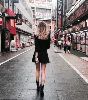 tumblr, black outfit and style