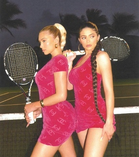 tennis, pink and dresses