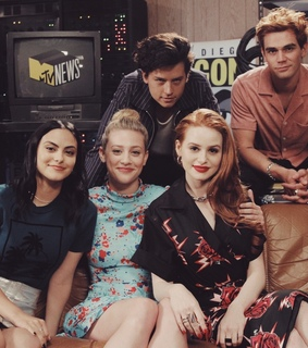 madelaine petsch, kj apa and riverdale