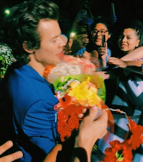 flowers, fans and Harry Styles