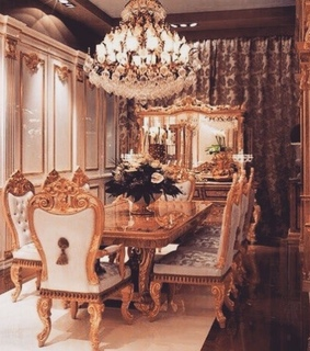 mansion, chandelier and fancy