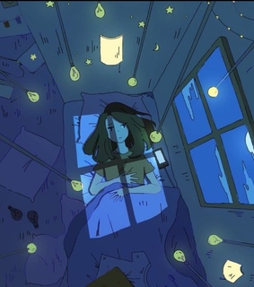 animation, lights and bed