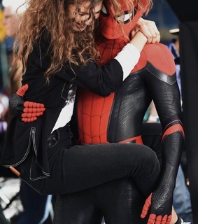 far from home, peter parker and tom holland