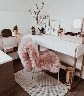 room girl, interior and vogue