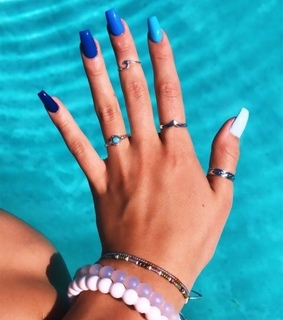 rings, nail art and girl things