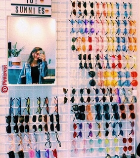 aesthetic, sunnies and colorful