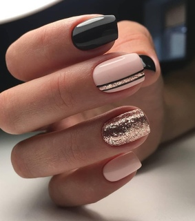 nails, design and manicure