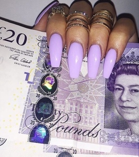 nail art, love and Queen