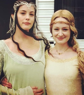 eowyn, lord of the rings and arwen undomiel