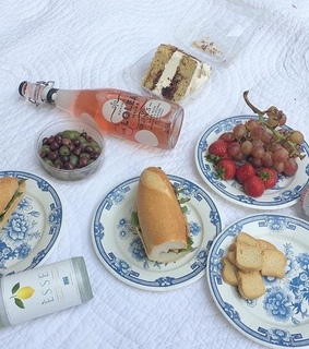 salad, picnic and style