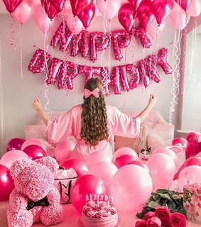 party, happy birthday and follow me