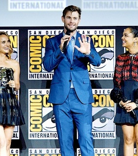 sdcc, thor and Marvel