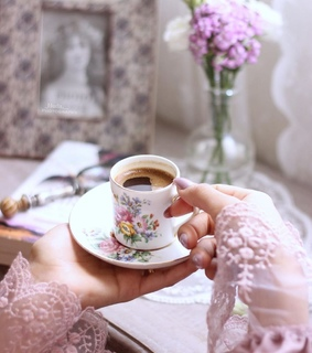 coffe, good morning and deco