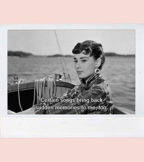 audrey, pink and chanel