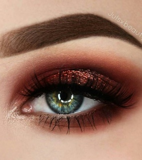 girl, eye makeup and beauty