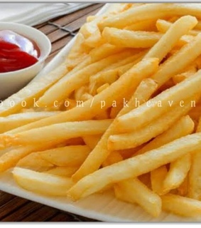 food, fries and tasty