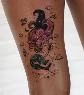 robson carvalho, body art and colortattoo