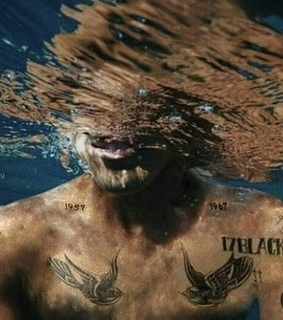 edit, Harry Styles and water