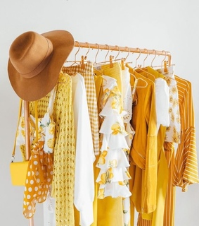 fashion, yellow and hat