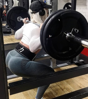 workout, fitness and squat