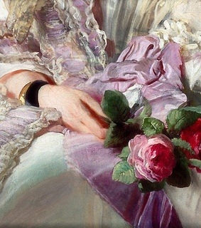 roses, pastel and art