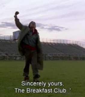 old, movie lines and The Breakfast Club