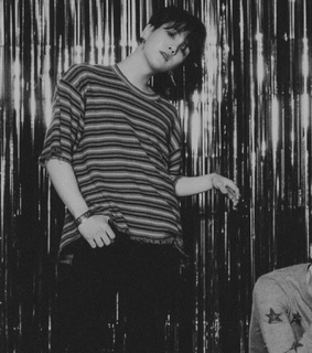 aesthetic, b&w and love yourself: tear