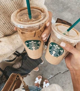 sweet, coffee and starbucks
