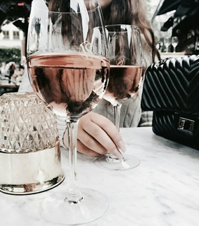 chic, girly and champagne