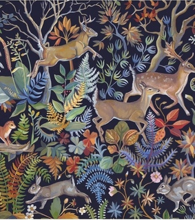background, animals and plants
