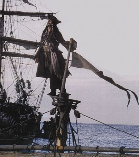 johnny depp, aesthetic and pirates of the caribbean