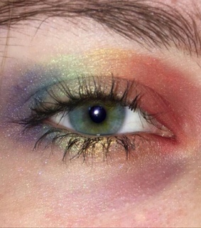 gay, lgbtq and eyeshadow